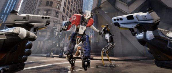 Epic Games' VR game Robo Recall is released for free on Oculus Touch at GDC 2017.