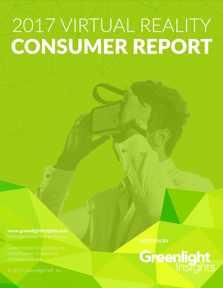 2017 Consumer Report