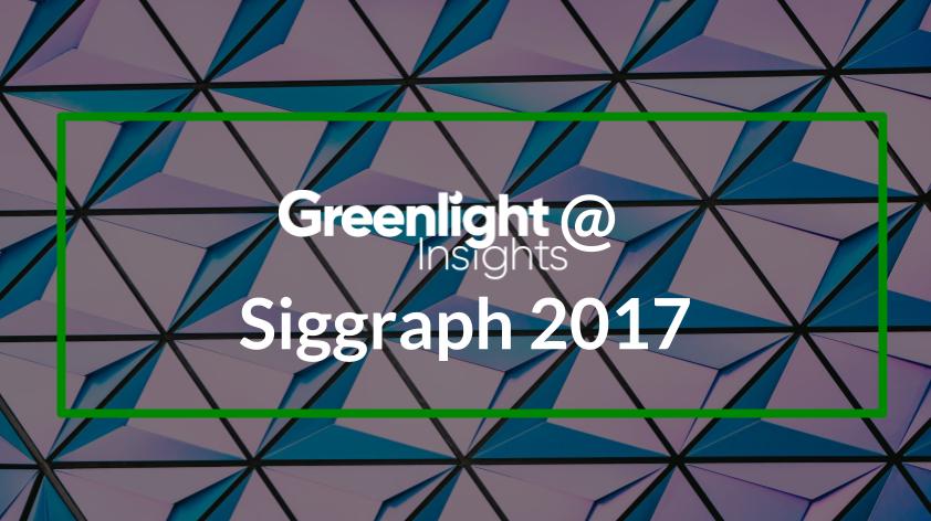 Siggraph 2017 VR
