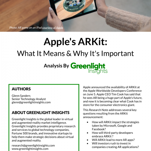 Apple's ARKit: What It Means & Why It's Important