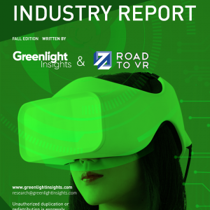 New Virtual Reality Industry Report, Fall 2017
