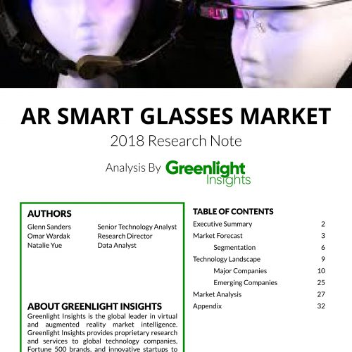 Smart Glasses for Consumers & Enterprise
