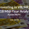2018 VR/AR Mid-Year Funding Review