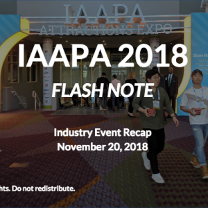 IAAPA 2018: Trends in Location-Based xR