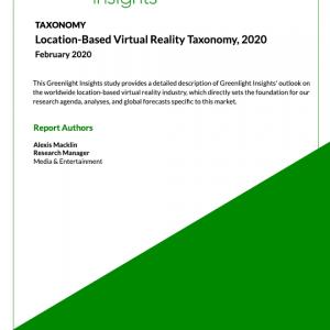 Location-Based Virtual Reality Taxonomy, 2020