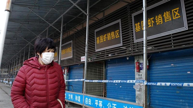 Chinese stores are closed due to the spread of Coronavirus.